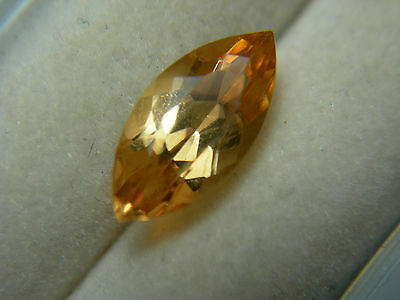 rare Imperial Yellow Hessonite Gem Sri Lanka NATURAL gemstone marquise 2.22cts
