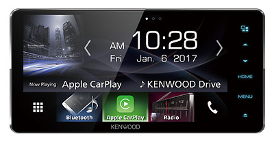 """KENWOOD DDX917WS 7"""" Android Auto Apple CarPlay 200mm Wide Panel"""