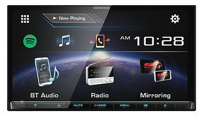 KENWOOD DDX7017BT HDMI® Interface,7inch WVGA Capacitive Touch Screen AV Receiver