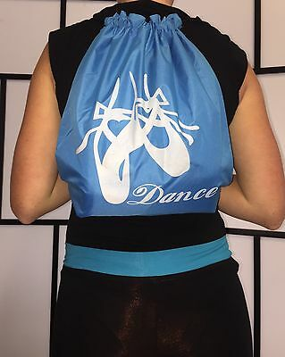 Drawstring  Bag - Blue Bnwt Same Day Post