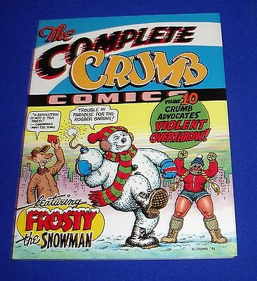 The Complete Crumb Comics vol 10. First edition & First printing 1987.  VFN.