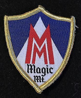 MAGIC MOUNTAIN Vintage Skiing Ski Patch VERMONT VT Souvenir Travel Resort