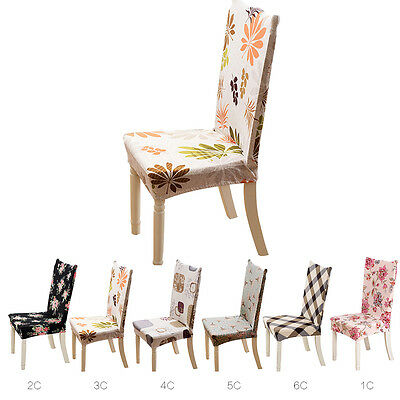 Kitchen Bar Dining Chair Cover Hotel Restaurant Seat Covers Wedding Part Decor
