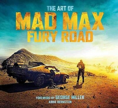 Art of Mad Max by Abbie Bernstein Hardcover Book (English)