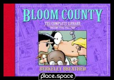 Bloom County Complete Library Vol 05 Ltd Sgn Ed - Hardcover