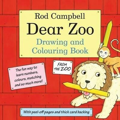 Dear Zoo Drawing and Colouring Book by Rod Campbell Paperback Book