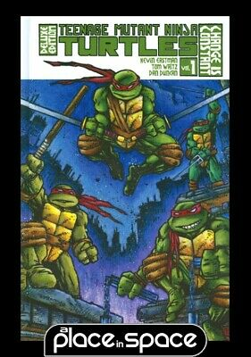 Tmnt Ongoing Vol 01 Deluxe Ed - Hardcover