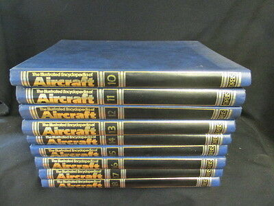 The Illustrated Encyclopedia Of Aircraft: Orbis: Complete Set Of 18 Binders