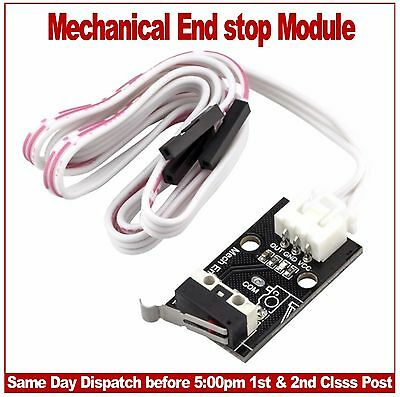 Mechanical Endstop Switch module with blue led indicator. Reprap CNC 3D printers