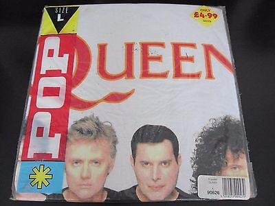Queen  :  Vintage  -  I Want It All  -  1989 Uk T-Shirt  -  Still Sealed ! !