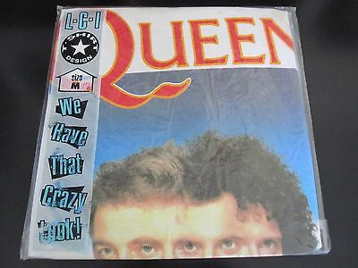 Queen  :  Vintage  -  The Miracle  -  1989 Uk T-Shirt  -  Still Sealed ! !