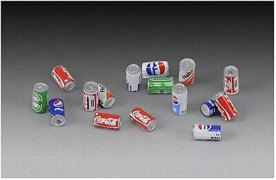 ROYAL MODEL DRINK CANS Scala 1:35 Cod.RM713