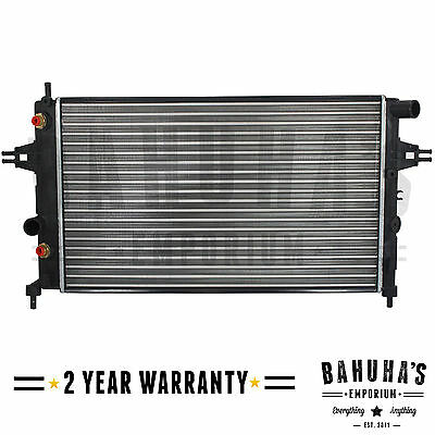 Manual / Automatic Radiator For Vauxhall Astra G Mk4 / Zafira A Mk1 1998 To 2005