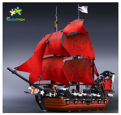4195 Queen Anne's Revenge Pirates of the Caribbean Ship building toys 16009
