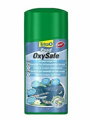 Tetra Pond OxySafe 500ml Koi Fish Pond Treatment Increases Oxygen Levels IN POND