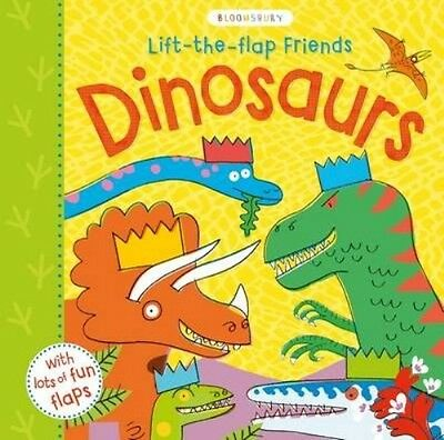 Lift-the-Flap Friends Dinosaurs by Peter Allen Board Books Book