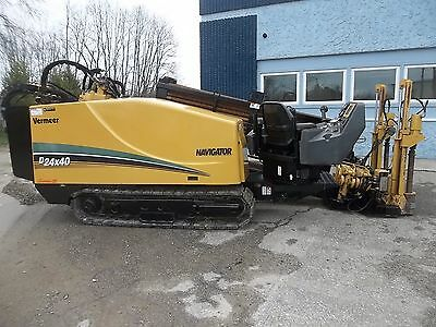 2011 VERMEER 24x40 SERIES 2  DIRECTIONAL DRILL, BORING, HDD