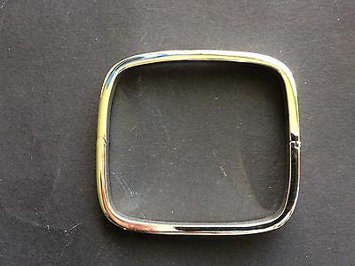 STERLING SILVER BANGLE, HINGED, square design *BN* lovely quality, .925 silver