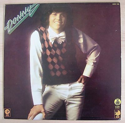 DONNY OSMOND ex-THE OSMONDS-DONNY-RARE ORIGINAL YUGOSLAV LP 1975-RTB LP 5885-POP