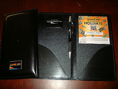 Waiter Book Wallet Presenter Checkbook Leather Panel Waitstaff Restaurant Server