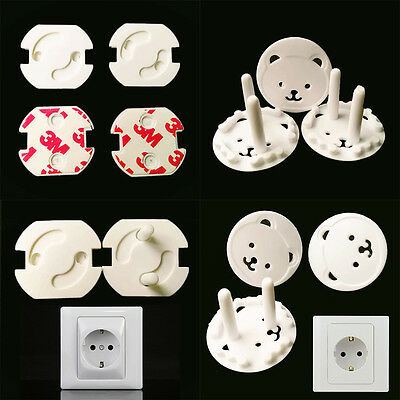 10pcs Baby Kids Electric Socket Outlet Safety Protection Safe Lock Cover Plug