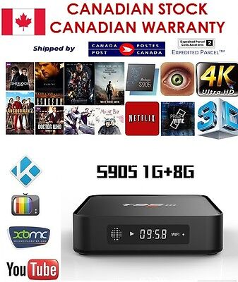 T95M smart TV Box Android 6.0 Loaded /w add ons S905X 8GB Quad Core WIFI BT 4.0