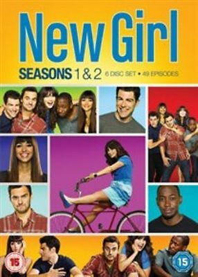 New Girl - Season 1-2 [DVD] [2013] Complete First Second Series NEW REGION 2