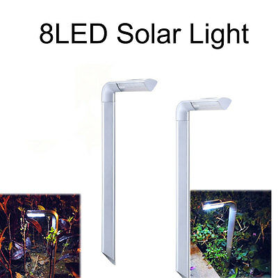 Practical LED Solar Powered Yard Lamp Garden Pathway Landscape Path Street Light