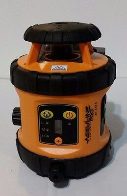 Johnson Acculine Pro Level and Tool 40-6515 Self-Leveling Rotary Laser Level