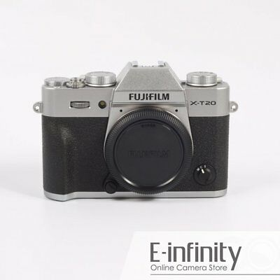 NEW Fujifilm X-T20 Mirrorless Digital Camera Body Only (Silver)