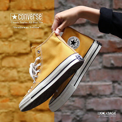 Converse Chuck Taylor All Star 70s High Sunflower Yellow Black Label 162054C