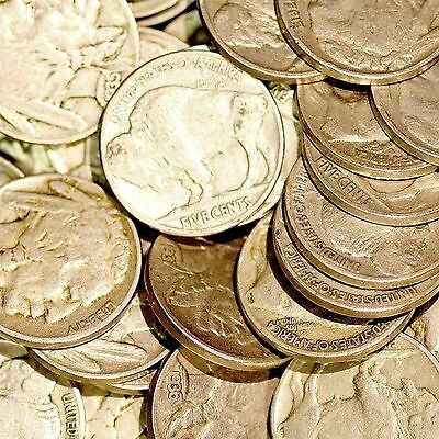 1920-1929 Mix Buffalo Nickel Hoard 12 Coin Lot Nickels Only $1.80 Each Wholesale
