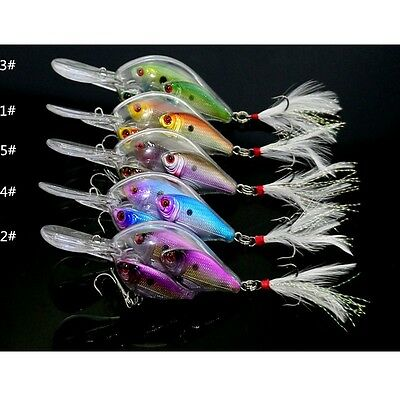 2017 New Style Fish School Crankbaits 3 Fish Lures Artificial Lures 17.1g/9.7cm