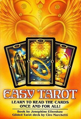 Easy Tarot: Learn To Read The Cards Once & For All (Tarot Set)