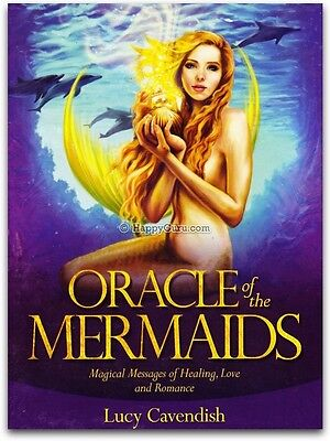 """oracle Of The Mermaids"" By Lucy Cavendish (Oracle Cards)"