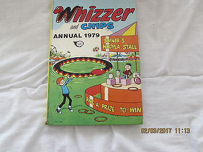 WHIZZER and  CHIPS    ANNUAL  1979 VERY GOOD FOR  AGE