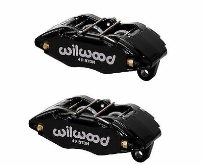 2 x Wilwood Forged DynaPro Honda Civic Direct Replacement 4 Pot Calipers, Black