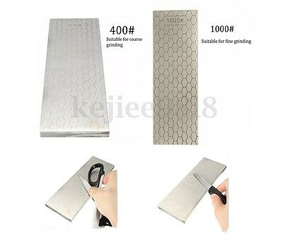 200mm Double-Sided Diamond Whetstone Stone Sharpening Stone Sharpener -L