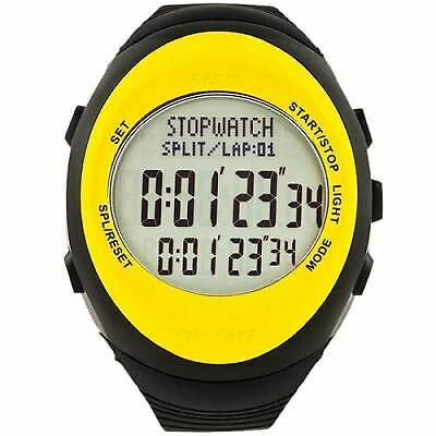 AST RW3 Co-Pilot Driver Stage Time Rally Watch- Black/Yellow / Grey Display