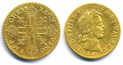 Medaille 1643 Ludwig XIV. - Frankreich - France - Louis D'or (1643-1715)