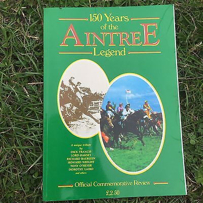 Official Commemorative Review 150 Years Of The Aintree Legend Grand National