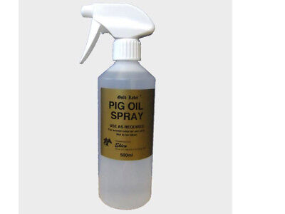Pig Oil Spray Gold Label 500ml 1 Litre Horse and Pony Mud Fever FREE DELIVERY