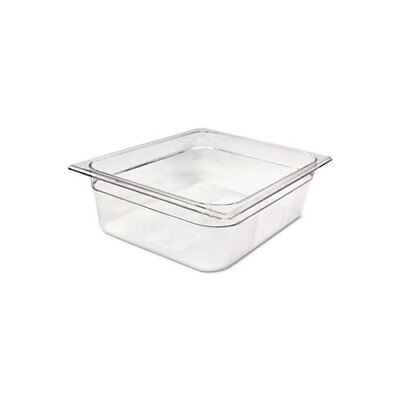 Rubbermaid Commercial Products 2 Space Wide Cold Food Pan Set of 6