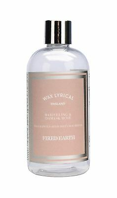 Wax Lyrical Fired Earth Darjeeling & Damask Rose 250ml Reed Diffuser Refill