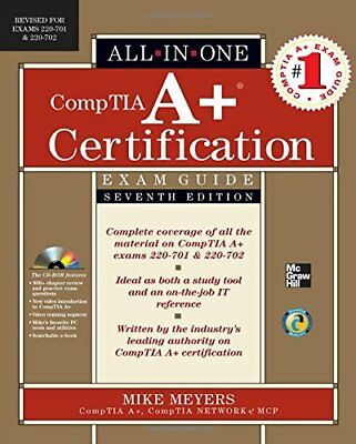 CompTIA A+ Certification All-in-One Ex... by Meyers, Michael Mixed media product