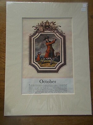 Vintage October 1958 Illustrated London News Advert Advertisement Golfing Golf