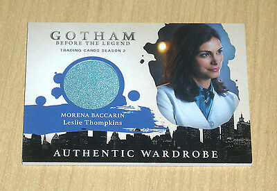 2017 Cryptozoic Gotham season 2 wardrobe Morena Baccarin as LESLIE THOMPKINS M05