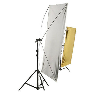 Weifeng Light Reflector Panel for Studio Photo 100x140cm – Silver/Gold (RE2018)