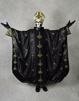 Papa Emeritus III Ghost Band AntiPope Complete Handmade Costume & Full Head Mask