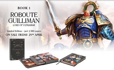 Roboute Guilliman: Lord of Ultramar Limited Edition by David Annandale New Mint